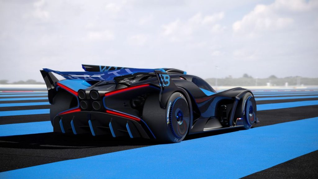 Le Bolide Bugatti