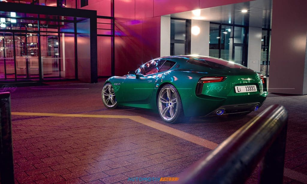 Maserati Alfieri verte