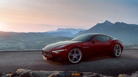 Maserati Alfieri rouge