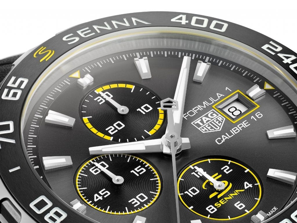 TAG Heuer Formula 1 Éditions Spéciales Ayrton Senna 2020