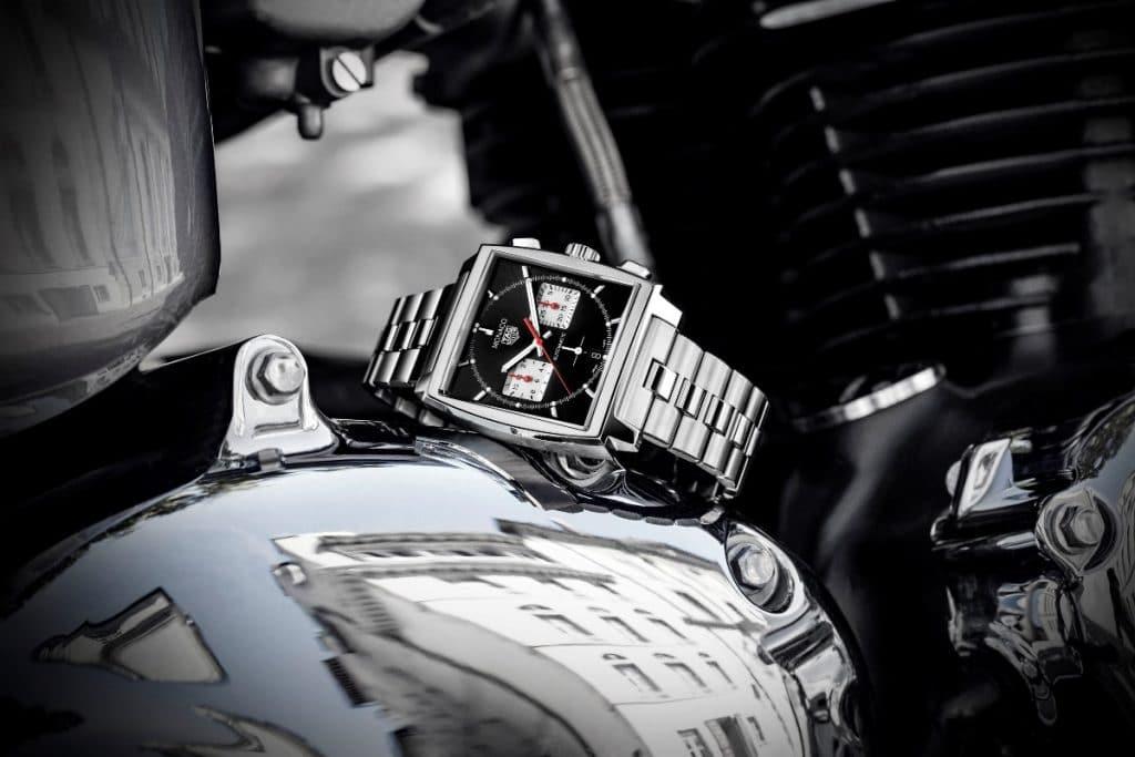 TAG Heuer Monaco Heuer 02 bracelet métallique