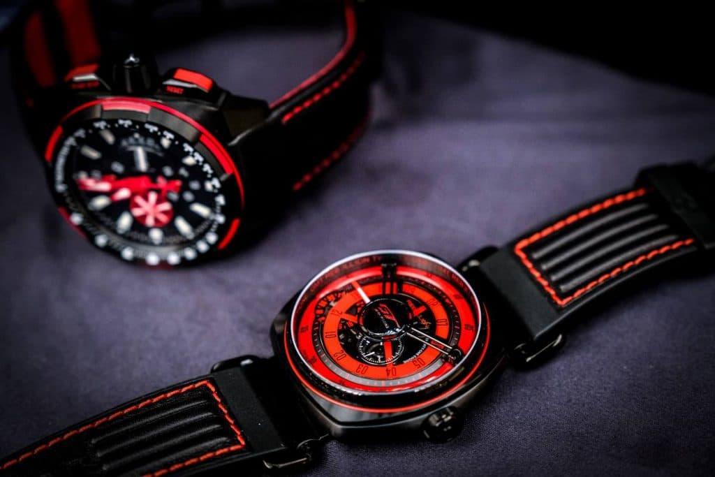 Rebellion GTWC Twenty-One GMT Wraith Drive Chronograph