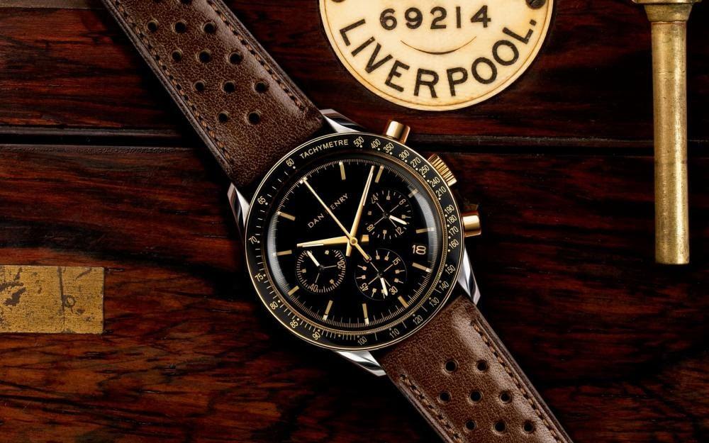 DAN HENRY 1962 Racing Chronograph Gold