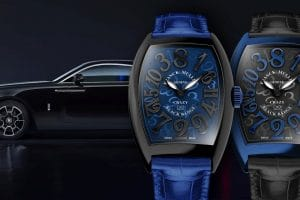 "Franck Muller Crazy Hours ""Black Badge Edition"""