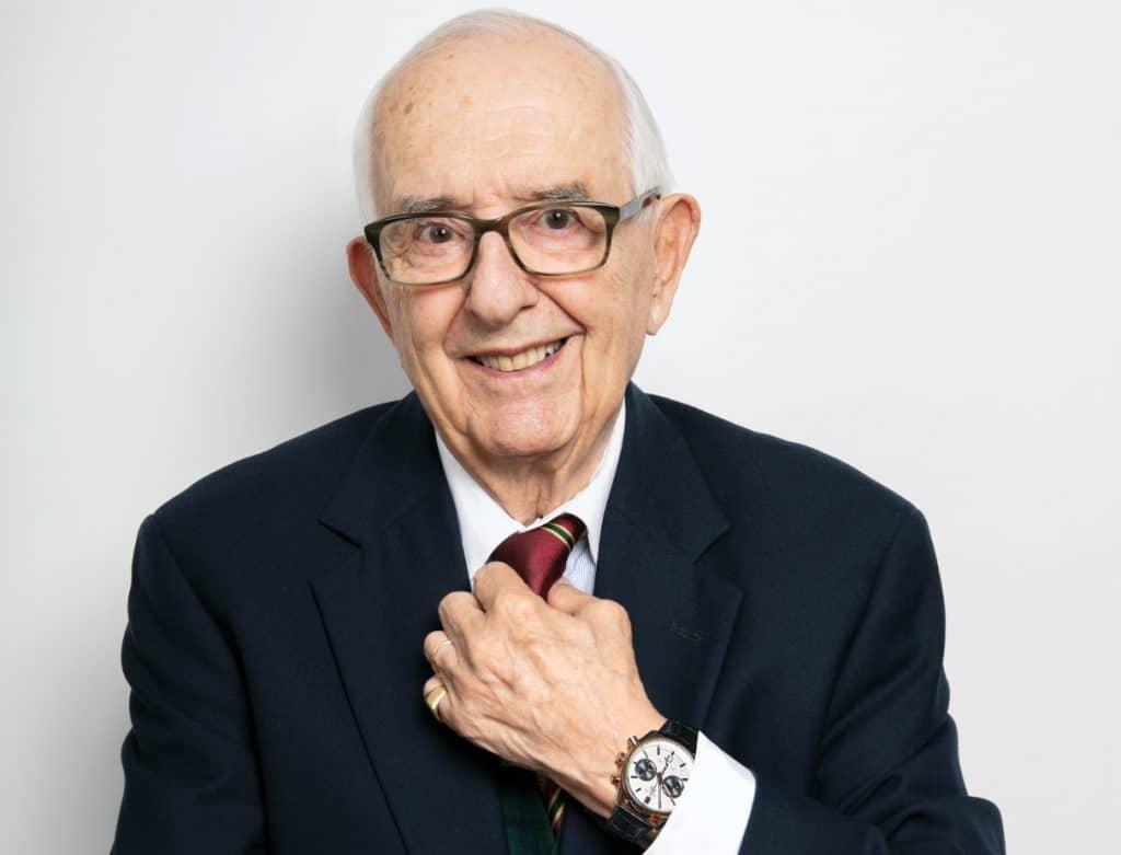 Jack Heuer 88th birthday