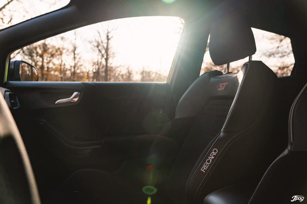 Ford Puma ST vert mine