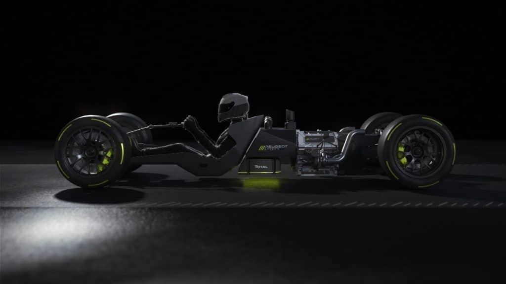 Peugeot Sport Powertrain Hybrid4 500 kW