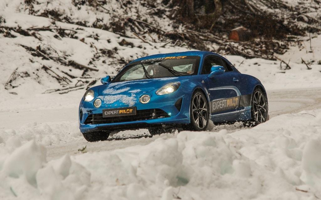 Alpine A110 circuit glace Abondance
