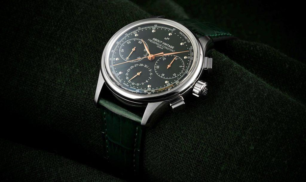 Frédérique Constant x About vintage Chronographe Flyback Manufacture