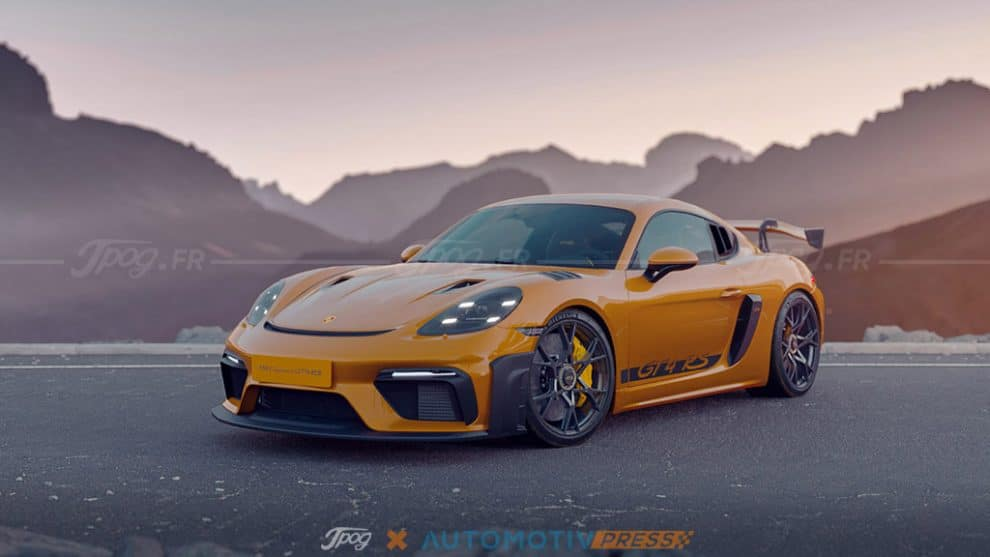 Porsche 718 GT4 RS, Jpog