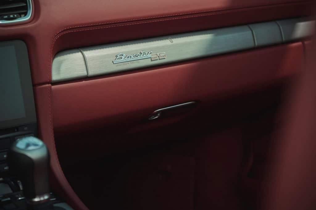 Porsche Boxster Edition 25 ans