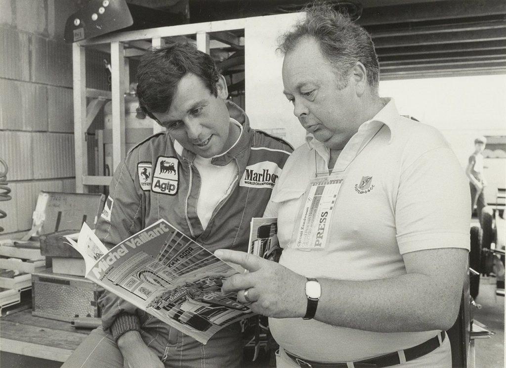 Jean Graton et Patrick Tambay
