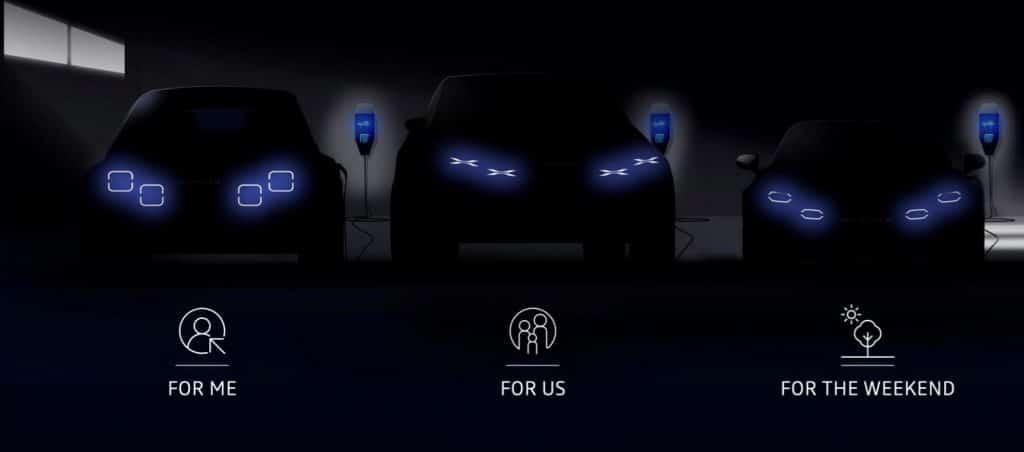 Alpine véhicules électriques 2023-2025