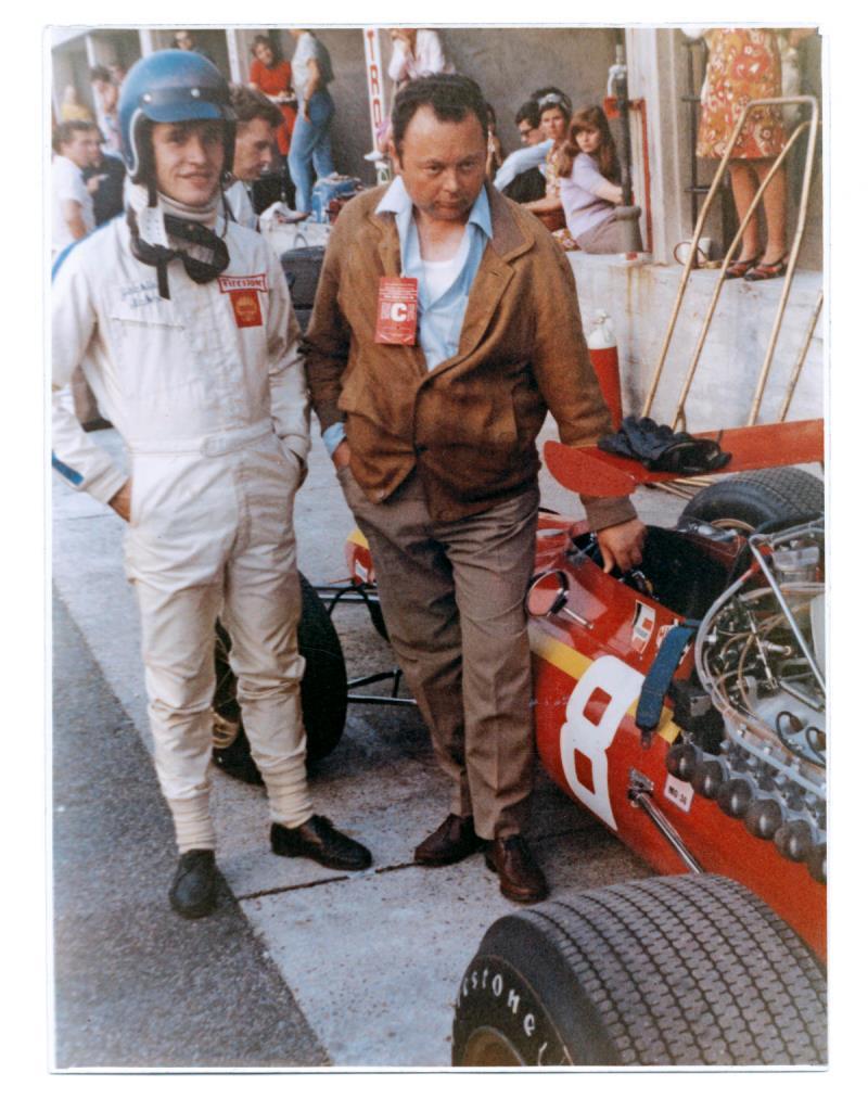 Jean Graton et Jacky Ickx
