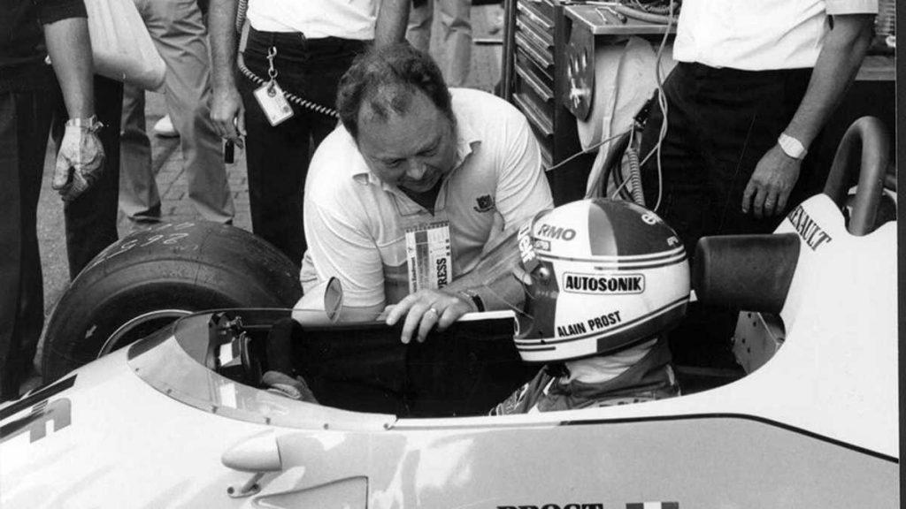Jean Graton et Alain Prost