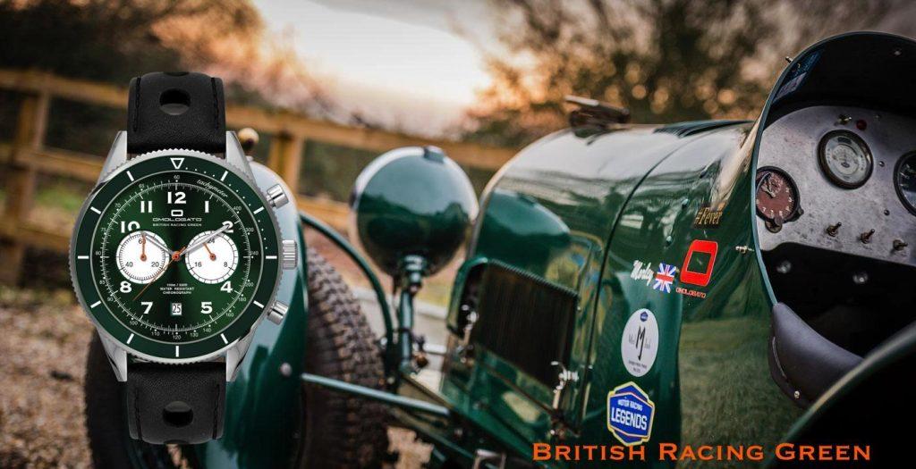 OMOLOGATO British Racing Green 2020