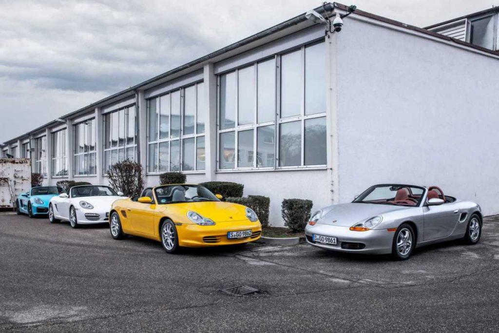 Porsche Boxster 25 ans (986, 987, 981, 718)