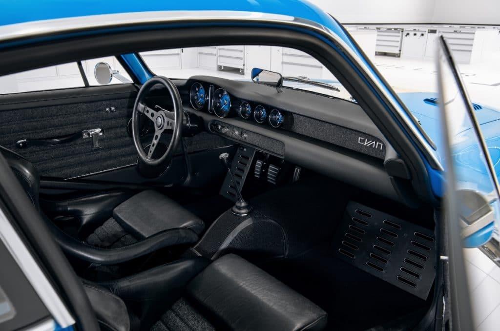 Volvo P1800 Cyan