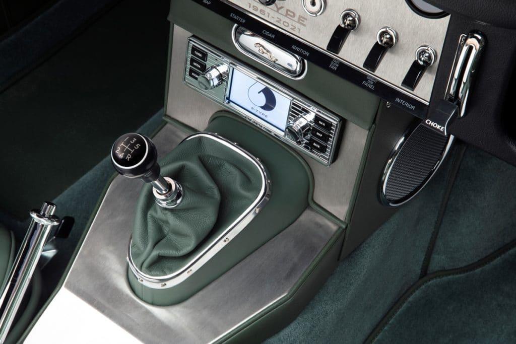 """Jaguar Type E """"Series 1"""" 3,8 litres cabriolet """"77 RW"""""""