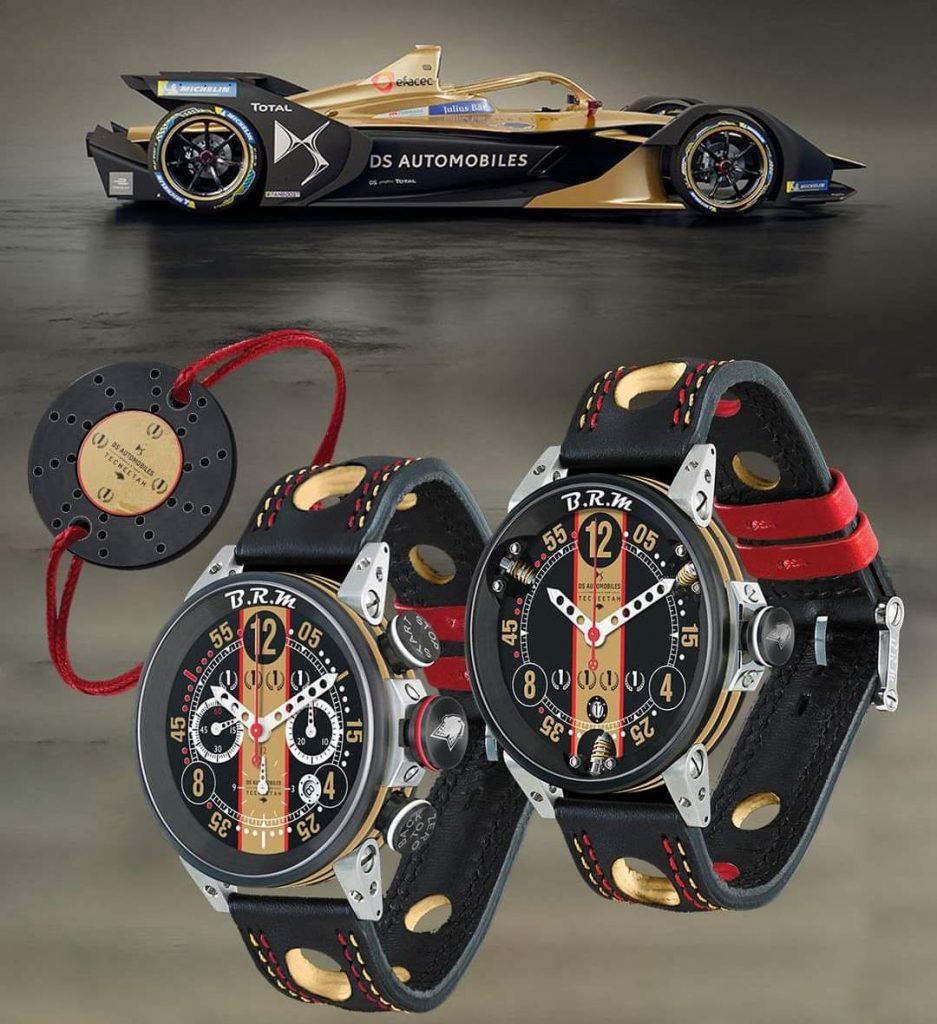 B.R.M Chronographes DS Techeetah Formule E Team 2021