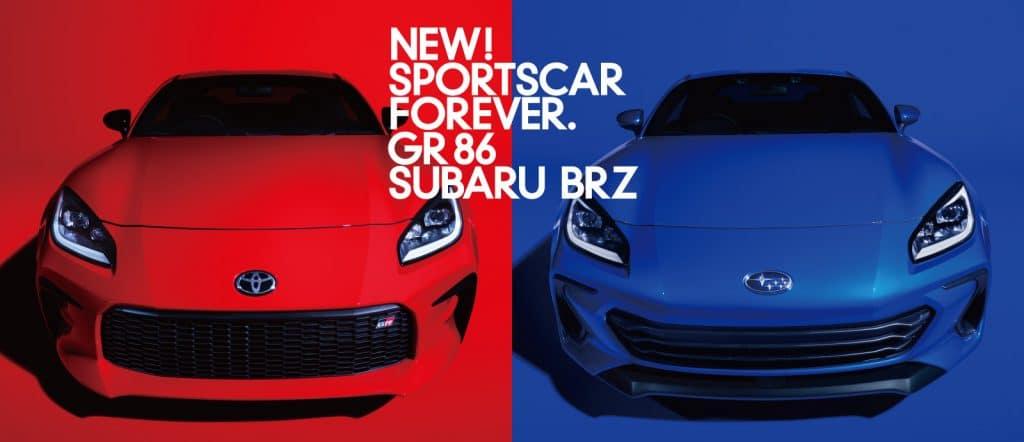 Toyota GR86 et Subaru BRZ (2021)