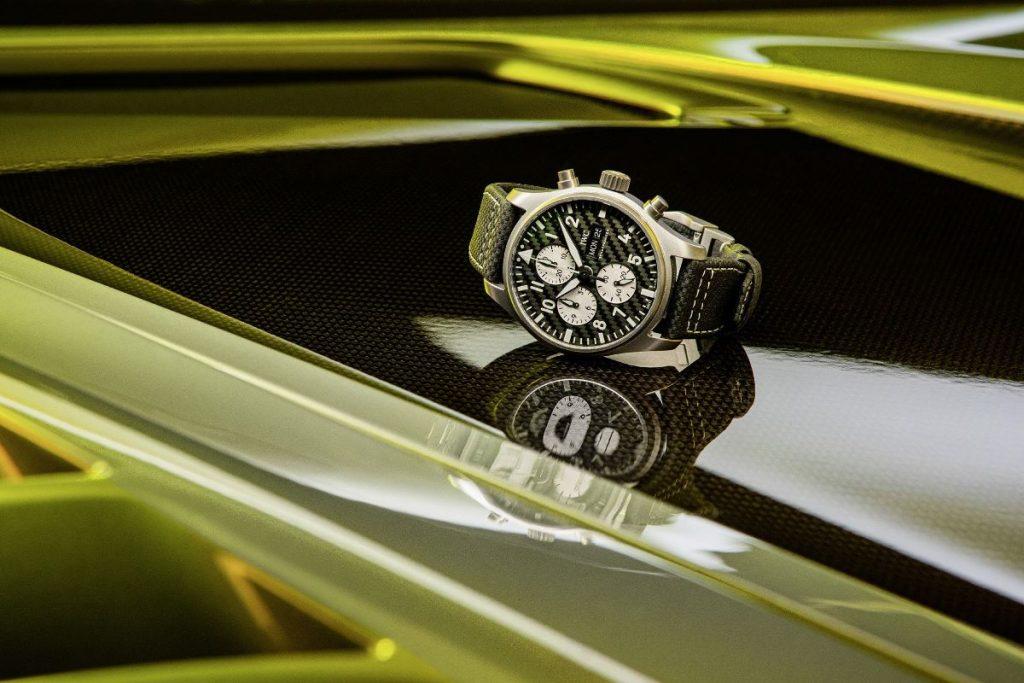 "IWC Montre d'Aviateur Chronographe ""Edition AMG"""