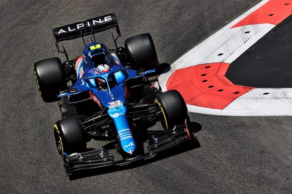 Alpine F1 A521