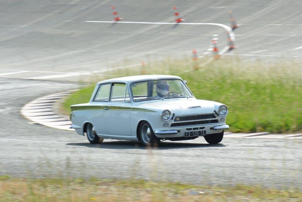 Ambroise/Ford Cortine - God Save the Car 2021 - Crédit photo @Autodrome Linas Montlhéry