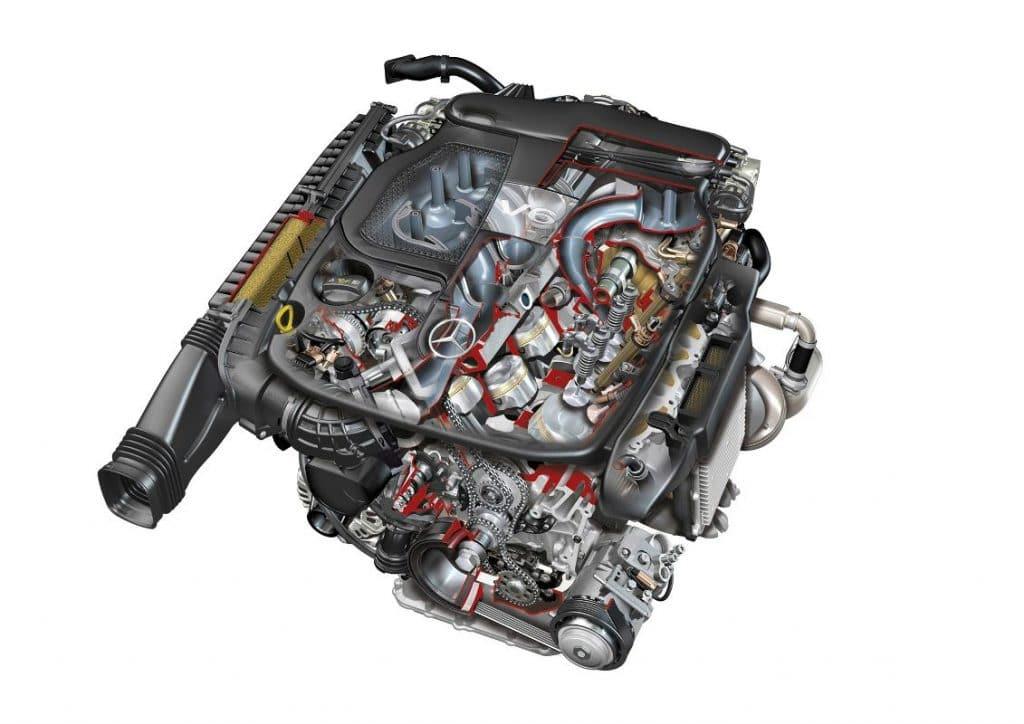 Mercedes AMG M276 (V6 3.0L biturbo)