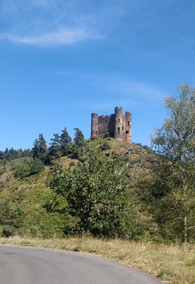 château d'Alleuze