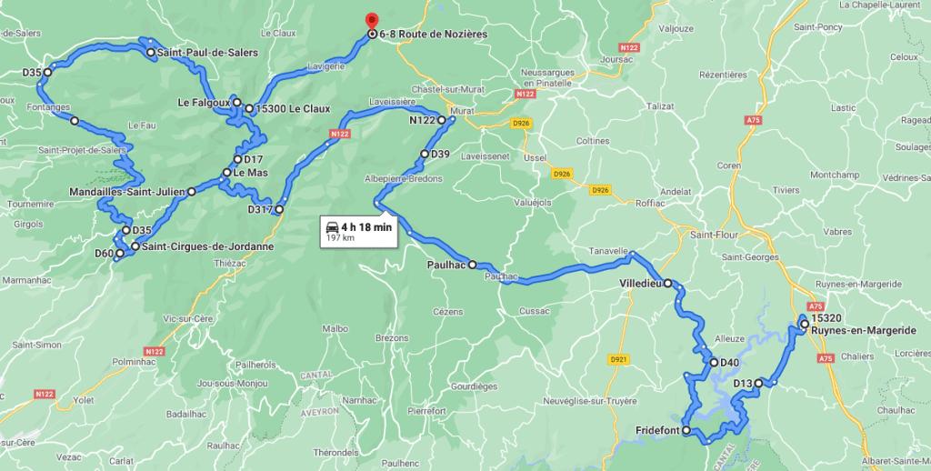 Jour 4 : De la Truyère aux sommets du Cantal